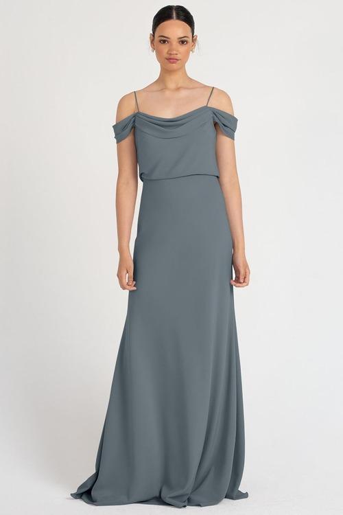 Sabine Dress by Jenny Yoo - Mayan Blue