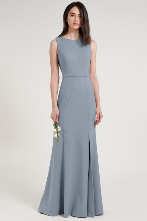 Gia Dress by Jenny Yoo - Mayan Blue