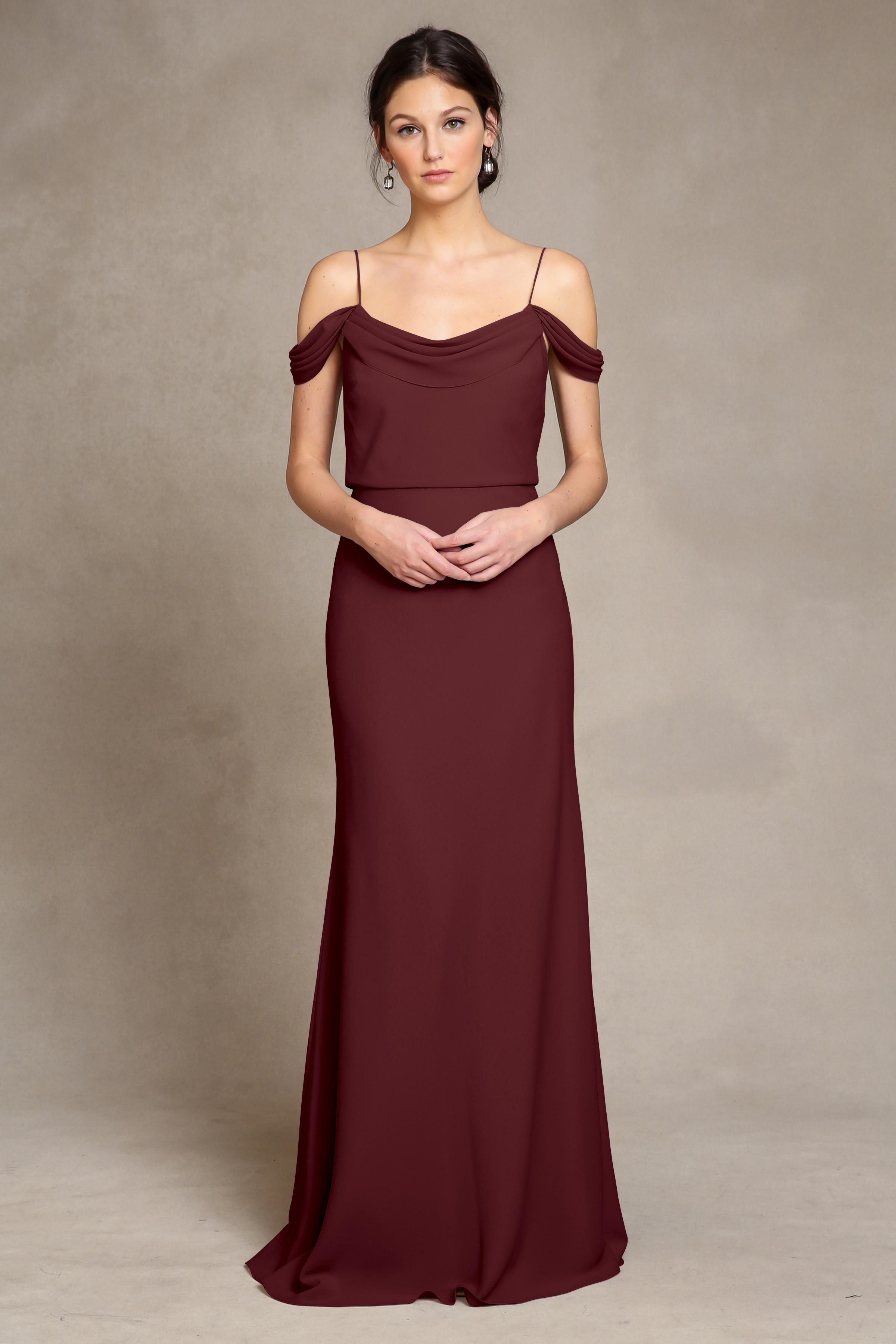 Sabine Dress by Jenny Yoo - Hibiscus