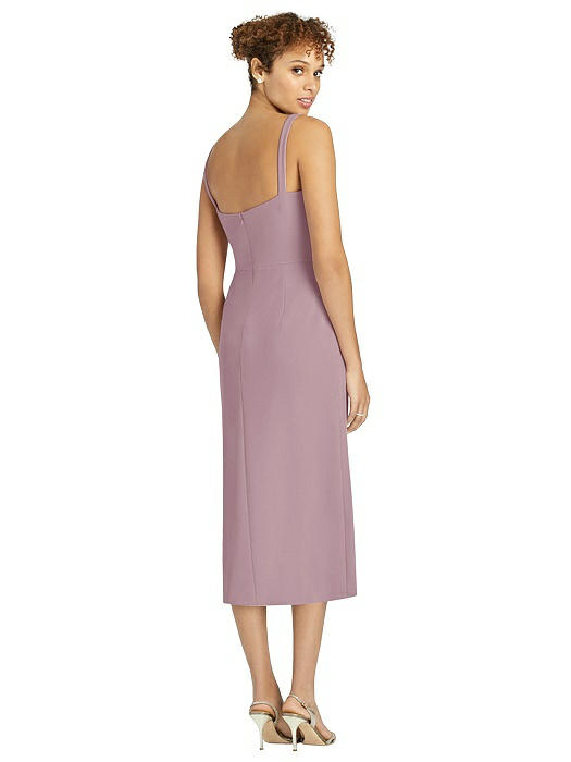 After Six Cocktail Pencil Dress by Dessy - Dusty Rose