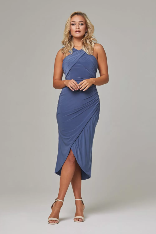 Kelly Dress by Tania Olsen - Dusty Indigo