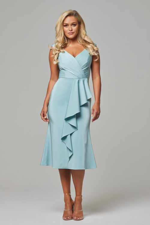 Gabrielle Cocktail Dress by Tania Olsen - Sea Mist