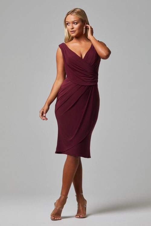 Delta Dress by Tania Olsen - Wine