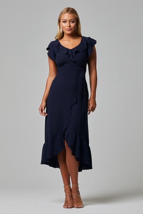 Ruby Dress by Tania Olsen - Navy