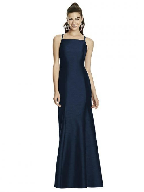 DISCONTINUED TBYB Alfred Sung Gown - Midnight Blue