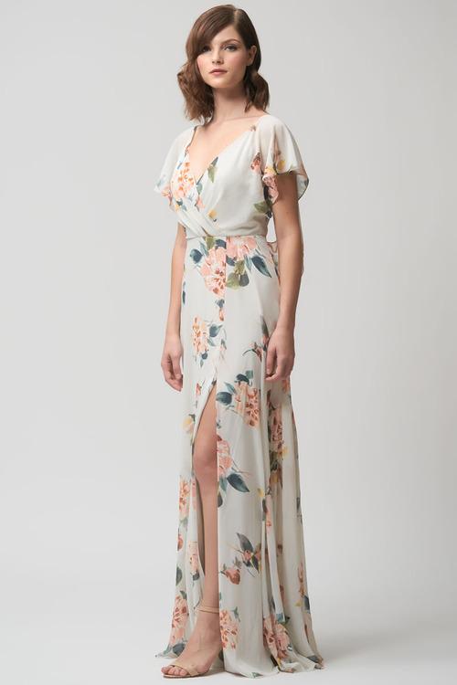 Alanna Floral Gown by Jenny Yoo - Ohana Sage