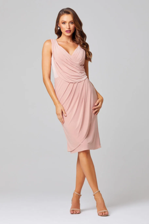 Delta Cocktail Dress by Tania Olsen - Blush