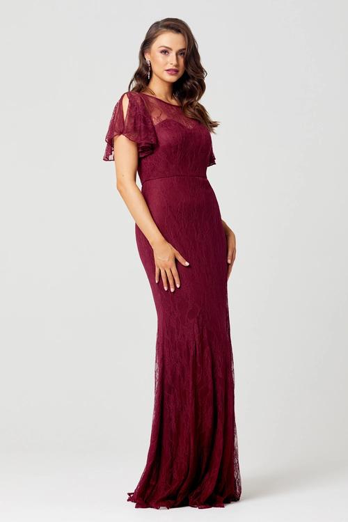 Harper Lace Dress by Tania Olsen - Merlot
