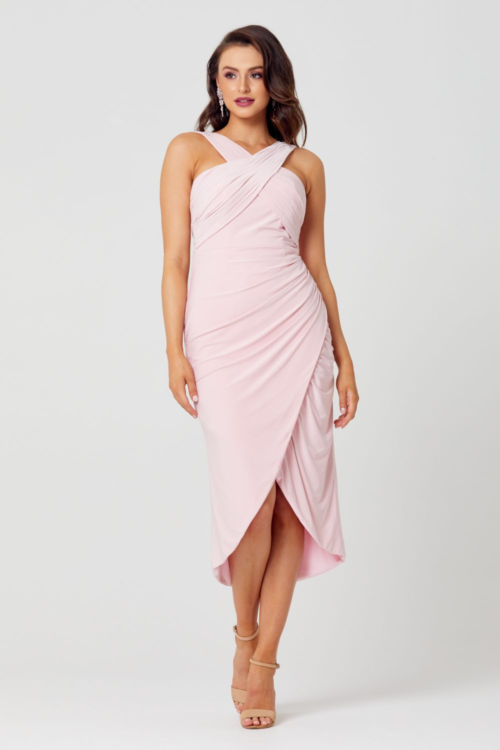 Kelly Cocktail Dress by Tania Olsen - Pink