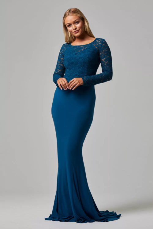 Shivani Lace Dress by Tania Olsen - Teal