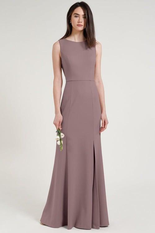 Gia Dress by Jenny Yoo - Purple Fig